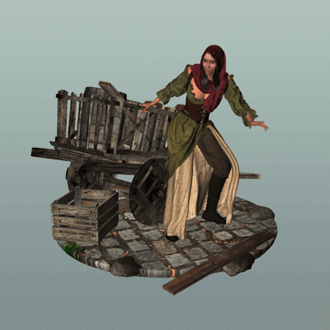 The Female Thief 3D