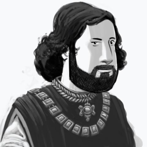 Mittelalterlicher Jean-René