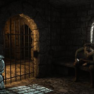 Gefängniszelle