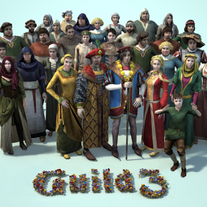 Alle Charaktere Guild 3