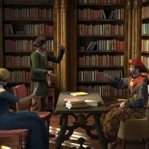 Gesellschaften Bibliotek
