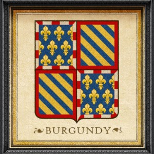 Burgundy-Coat of Arms