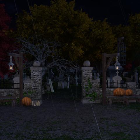 Cemetary-Halloween